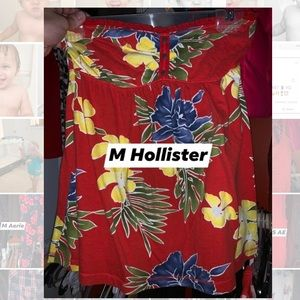 Small Hollister tube-top